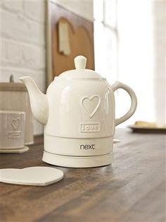 Heart Kettle from Next | Kitchen | Pinterest | Kettle, Kettles and Teas