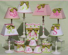customized lampshades...easy to recreate