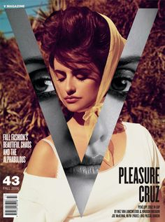 V Magazine - Penelope Cruz  www.editionlingerie.de Édition Lingerie Inspiration