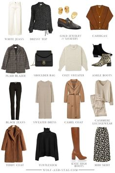 Autumn Winter Capsule Wardrobe Confession time: this was me. - Autumn Winter Capsule Wardrobe Confession time: this was meant to just be my A - # Capsule Outfits, Fall Capsule Wardrobe, Fashion Capsule, Mode Outfits, Winter Wardrobe, Fall Outfits, Capsule Clothing, Women's Clothing, Trendy Outfits