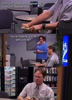 the office- oh dwight...