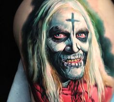House of 1000 Corpses tattoo by Paul Acker