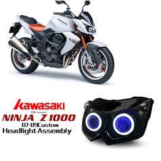Kawasaki Z1000 Custom Headlight 2007-2009  http://www.ktmotorcycle.com/custom-headlights/kawasaki-custom-headlights/kawasaki-z1000/kawasaki-z1000-2007-2009.html