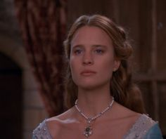 """Buttercup ( Robin Wright ) looks exquisite in a blue gown """"The Princess Bride"""", 1987 Princess Bride Quotes, Princess Bride Movie, Robin Wright Princess Bride, Viking Dress, Princess Aesthetic, Film Aesthetic, Blue Gown, Fantasy Dress, Bride Hairstyles"""