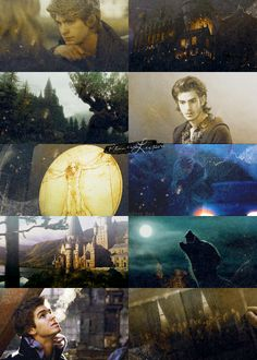 Andrew Garfield as Young Remus Lupin. First of all, yes. Second of all, YES!
