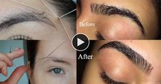How To Thread Your Own Eyebrows Without Pain Hey guys, today everyone want to…