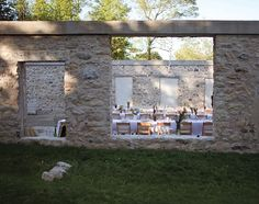 Outdoor Dining at the Alton Mill in Caledon, Ontario Discover Canada, Wedding Anniversary, Anniversary Ideas, Outdoor Theater, Outdoor Dining, Over The Years, Ontario, Party Themes, Wedding Venues