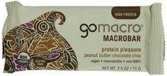 MACROBARS Organic Peanut Butter Chocolate Chip, 2.5 oz Bars (Pack of 15) - http://goodvibeorganics.com/macrobars-organic-peanut-butter-chocolate-chip-2-5-oz-bars-pack-of-15/