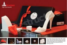 """5"""" High Heel Shoe Kit for gumpaste and fondant $49.95 - bought this, can't wait til it gets here!"""