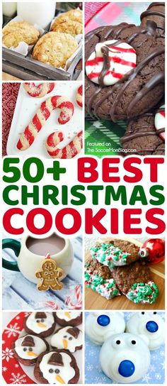 A HUGE collection of the best Christmas cookies from our favorite food and family bloggers. Secret family recipes, kids cookies, gluten free, and more! #holidayrecipes #Christmas #cookies via @https://www.pinterest.com/soccermomblog