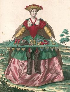 The Shoe Peddler or The Shoe Seller's Wife, by Martin Engelbrecht, c. 1750. Bavarian State Library. - See more at: http://twonerdyhistorygirls.blogspot.com/2015/02/an-upcoming-exhibition-for-lovers-of.html#sthash.x8VhfrmJ.dpuf