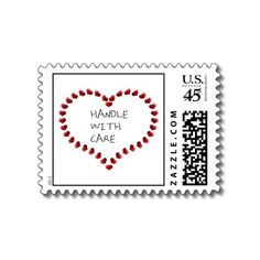 Handle with Care Postage Stamps  4.6 (415 reviews)  In stock!  Quantity:  sheet of 20.  Only $18.00 in bulk!  Add to wishlist  $21.00  per sheet of 20