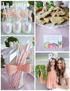 Bunny Themed Party but love the idea of using this inspiration for an Easter party!
