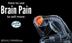 How to use Brain Pain to = More Sales! - Gullyware Systems