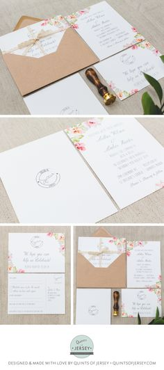 31 Best Quints Of Jersey Wedding Stationery Design Collection Images
