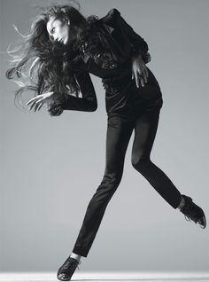 Karlie Kloss - Super Modern Supermodels - W Magazines July 2012  Steven Meisel  www.artandcommerce.com  via wmagazine.com    for #motion