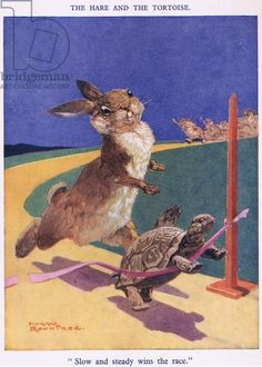 """Harry Rountree - """"Slow and steady wins the race"""" (from the Hare and the Tortoise)"""