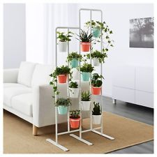 Find Great Deals For Ikea Socker Plant Flower Pot Stand Room Divider Herbs Kitchen Porch White New Shop With Indoor Plant Shelves Ikea Plants Ikea Plant Stand