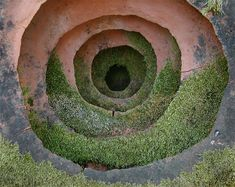 Part of a project created by Andy Goldsworthy at Runnymede Farm in Woodside, CA -