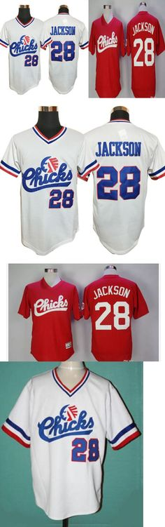 Baseball-Other 204: Bo Jackson #28 Memphis Chicks Minor League Baseball Jersey Retro Stitched S-3Xl -> BUY IT NOW ONLY: $31.99 on eBay!