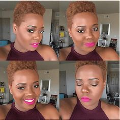Flat Twist Out on Tapered Cut will leave your hair looking fabulous Natural Hair Short Cuts, Short Natural Haircuts, Tapered Natural Hair, Short Grey Hair, Natural Hair Care Tips, Short Hair Cuts, Natural Hair Styles, Twa Haircuts, Twa Hairstyles