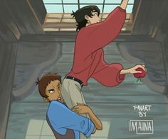 1/7<<<< this is perfect Lance and Keith as Tulio and Miguel