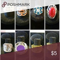 Rings Can be worn day or night. Work or play Jewelry Rings