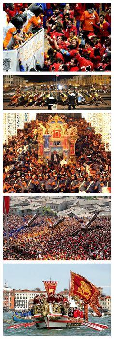 Top 5 Fun Festivals in Italy http://www.scoop.it/t/italia-mia