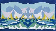 Giacomo Balla - italian futurism - approx 1930 Umberto Boccioni, Giacomo Balla, Italian Futurism, Art Camp, Italian Artist, Punch Needle, Superhero Logos, Sailing, Tapestry
