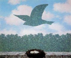 Рене Магритт -  Spring  (1965) - Открыть в полный размер