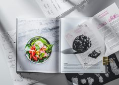 Editorial Design: Play, Cook, Kiss: Culinary Tricks