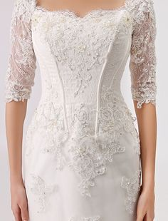 2016 Vintage Inspired Off the Shoulder Mermaid Lace Wedding Gown
