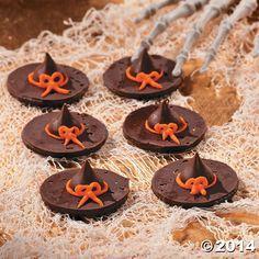 Witch+Hat+Cookies+-+OrientalTrading.com