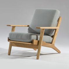 Hans Wegner Plank Style Armchair