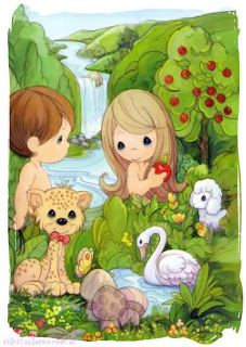 Precious Moments Adam and Eve Precious Moments Quotes, Precious Moments Coloring Pages, Precious Moments Figurines, Cute Images, Cute Pictures, Bible Stories For Kids, Book Reviews For Kids, Sunday School Crafts, Jesus Pictures