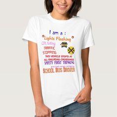 school bus driver T Shirt, Hoodie