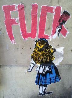 Fuck #graffiti #street art