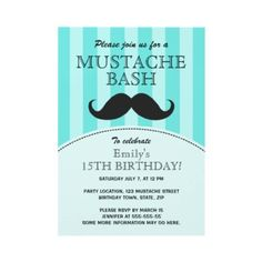 @Anna Totten clay  i'm thinking mustache themed birthday party this year. k? k.