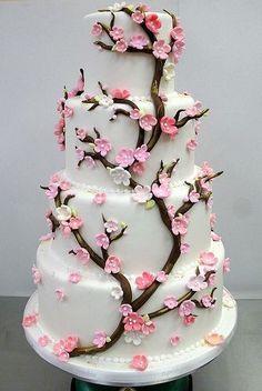 Romantisch Japanse kersen bloesem