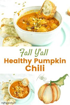 Make a big batch of Healthy Chili for this fall. Pumpkin and turkey sausage. Your family will love delicious pumpkin chili with turkey sausage. You will love all the vegetable goodness packed in the pumpkin and the kidney beans. Simple to put together, and quick to cook you will have dinner on the table in no time. Pumpkin Chili, Best Pumpkin, Healthy Pumpkin, Fall Dinner Recipes, Dinner Recipes Easy Quick, Fall Recipes, Turkey Chili, Turkey Sausage, Healthy Chili