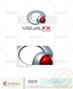 Technology Logo - 3D-312 by pixellogo An excellent logo template suitable for design, multimedia and technology businesses. This is a layered logo template and high re
