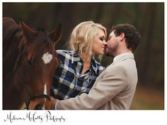 we're seeing this a lot lately. horses + wedding portraits? love it or hate it?