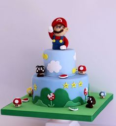 Thomas Jay wants a Mario cake for Saturday. pretty sure Walmart isn't gonna have it! lol