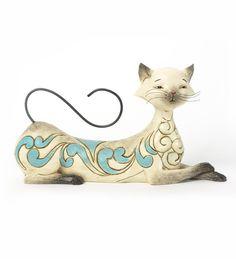 Jim Shore - Siamese Cat Statue