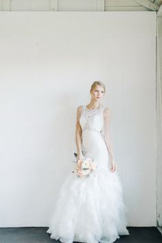 Gorgeous dress: http://www.stylemepretty.com/florida-weddings/orlando-fl/2015/03/27/vintage-chic-southern-wedding-inspiration/ | Photography: The Hons - http://thehonsphoto.com/