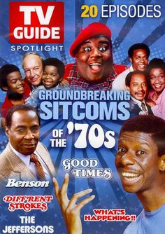 This release for classic TV lovers offers a collection of episodes from beloved shows from days gone by, with a focus on groundbreaking TV shows of the 1970s, like BENSON, THE JEFFERSONS, GOOD TIMES,