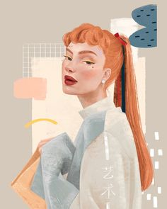 I absolutely love this Illustration, so much passion in the models eyes. Art And Illustration, Portrait Illustration, Illustrations And Posters, Kunst Inspo, Art Inspo, Arte Gcse, Art Sketches, Art Drawings, Portrait Sketches