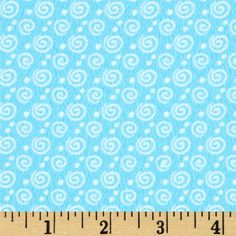 Designed by Greta Lynn for Kanvas Studios in association with Benartex, this soft double napped (brushed on both sides) flannel cotton print is perfect for quilting and apparel. Colors include white aqua blue.