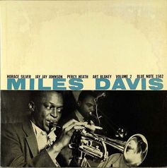 Miles Davis, vol. 1 Blue Note Records BLP 1501 LP Vinyl Record Album Cover Design by John Hermansader, Photo by Francis Wolff Miles Davis, Vinyl Lp, Vinyl Records, Rare Vinyl, Zine, Jackie Mclean, Blue Note Jazz, Francis Wolff, Musica Disco