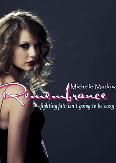Remembrance by Michelle Madow Cover Contest Entry